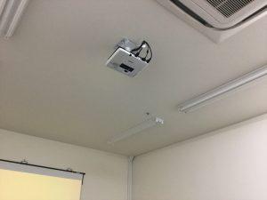 天吊りでスペースを有効活用